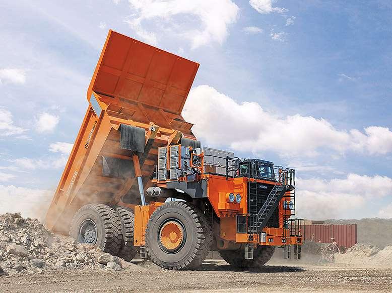 Parkovací asistent bude i pro důlní obry