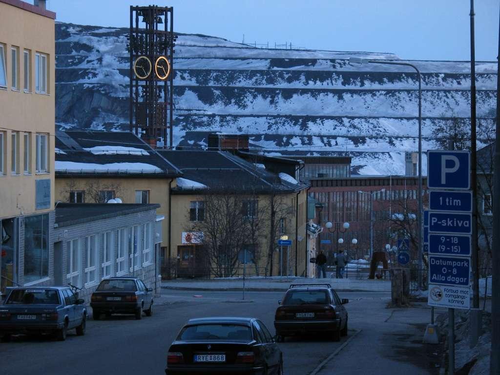 Nejsevernější švédské město se přesune