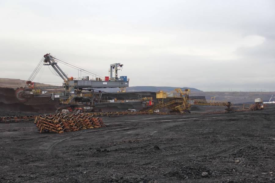 Zakládací vůz slouží uhelným rýpadlům