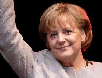 Merkelová chce chránit klima