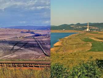 Z lomu je třetí největší jezero v ČR
