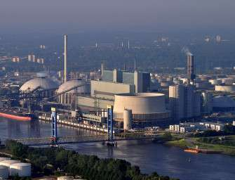 Elektrárna Moorburg po boji jede naplno
