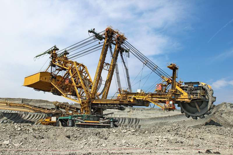 Heavy coal excavator