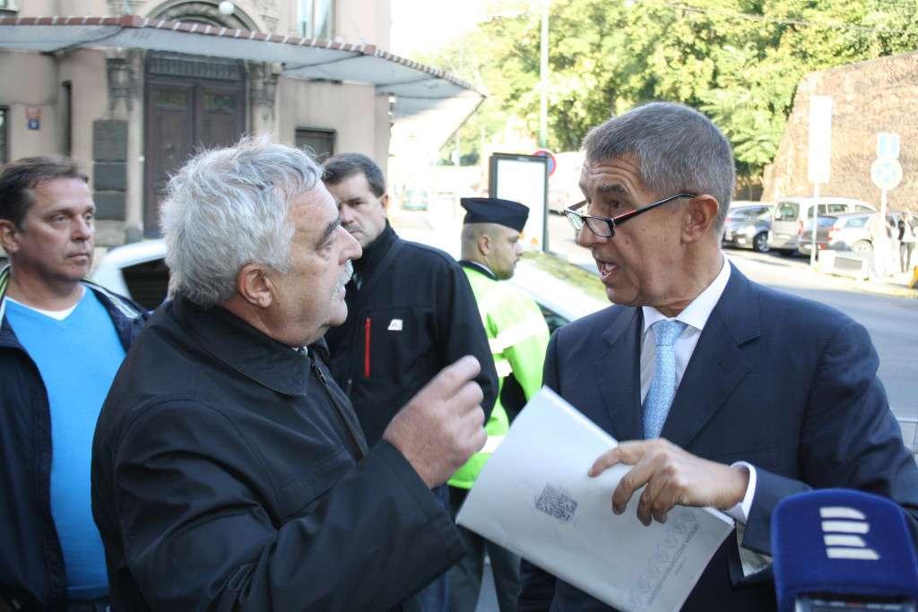 Ministr financí Babiš horníky opět nepotěšil. Foto: iUHLI.cz