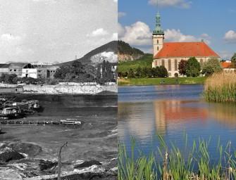 Kostel by stál uprostřed lomu