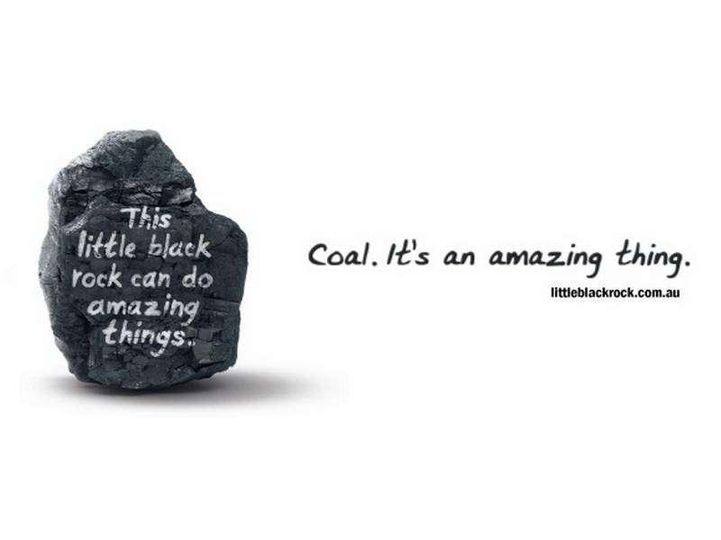 Amazing coal