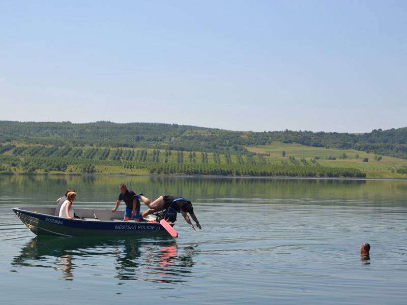 Jezero Milada. Foto: webové stránky Ústí nad Labem
