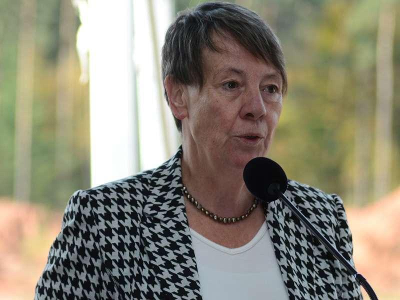 Ministrině životního prostředí Barbara Hendricks. Foto: US ARMY EUROPE