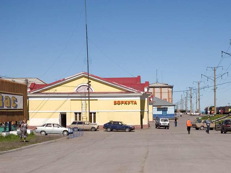 Město Vorkuta. Foto: wikipedia.com