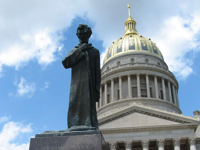 Abraham Lincoln, West Virginia State Capitol. Foto: wikipedia.com
