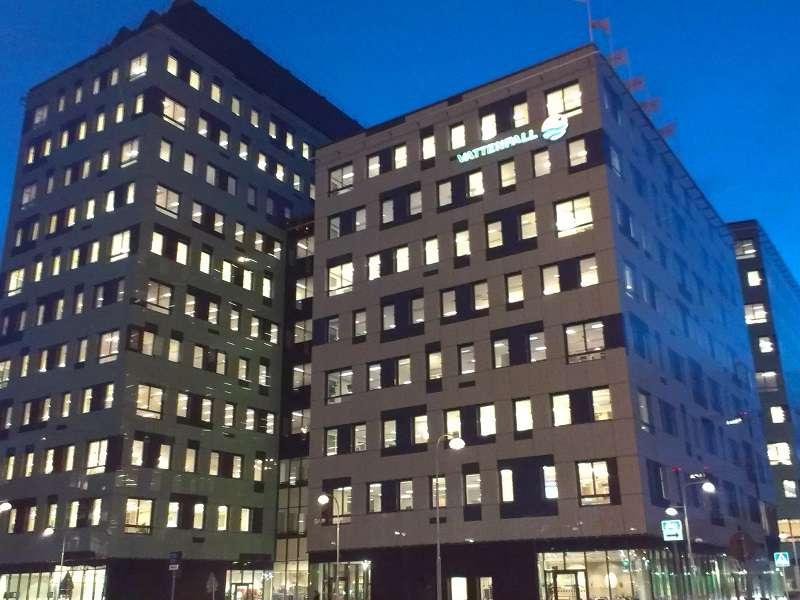 Centrála Vattenfallu ve Stockholmu. Foto: wikipedia.com