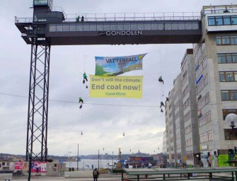 Neprodávejte klima, požadovali aktivisté