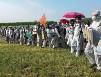 Aktivisté obsadili německý důl, který koupil EPH
