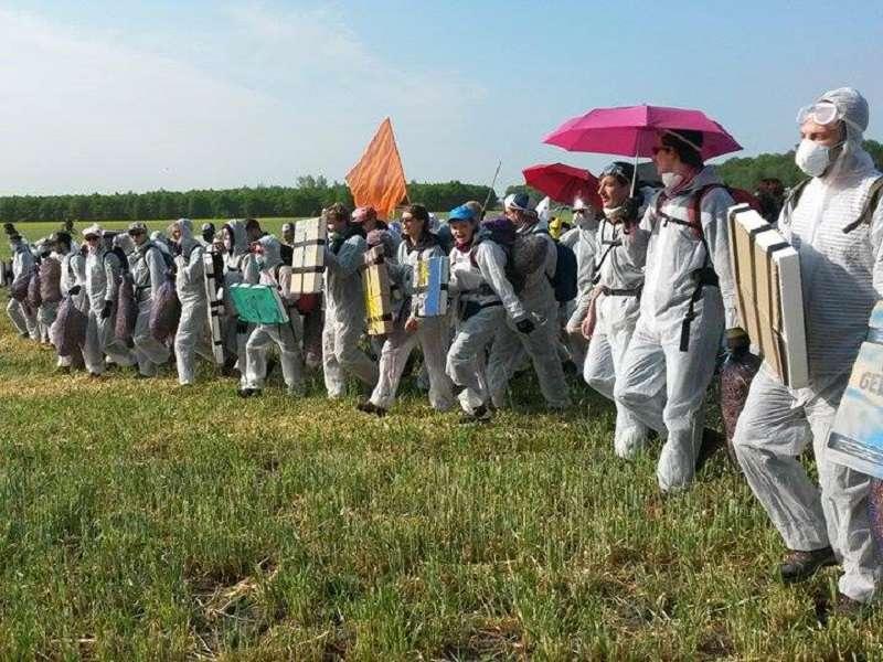 Aktivisté jsou údajně odhodláni porušovat zákony. Foto: endegelände.org