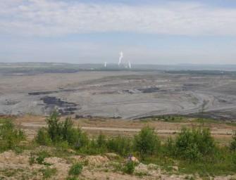 Sokolovská uhelná dotěží bývalý důl Družba