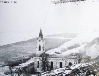 Architekt chce zpřístupnit zasypaný kostel