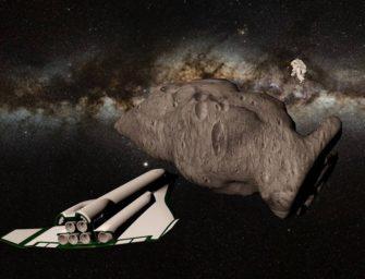 Těžaři si brousí zuby na vesmírný poklad
