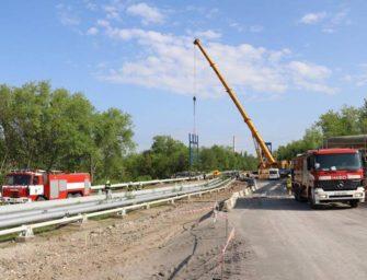 Báňští záchranáři pomáhali v Hořanském koridoru