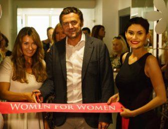 Tykačovi otevřeli Women for Women i v Mostě
