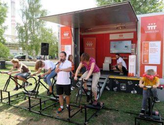 Oranžové kolo ČEZ slaví 15 let