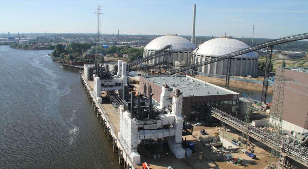 Uhelná elektrárna Moorburg.
