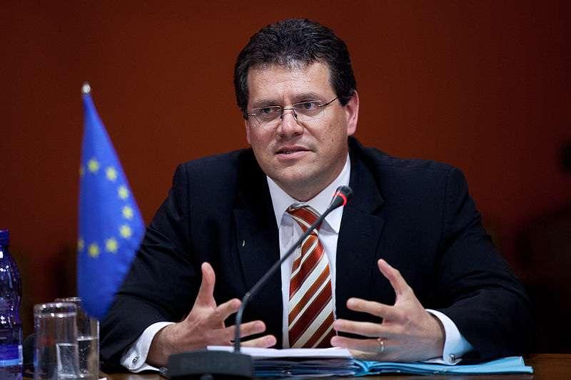 Studená sprcha pro eurokomisaře Šefčoviče