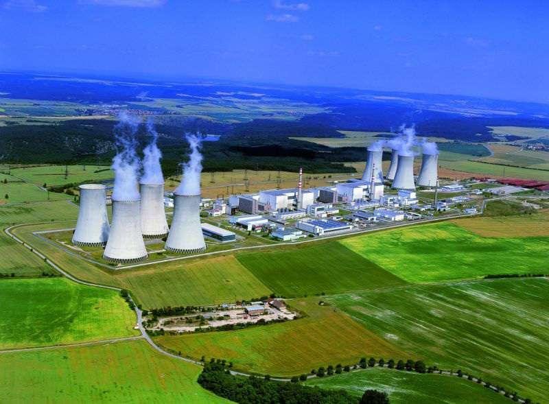 Jaderná elektrárna Dukovany. Foto: ČEZ