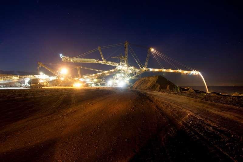 Těžební důl Profen společnosti Mibrag. Foto: Mibrag