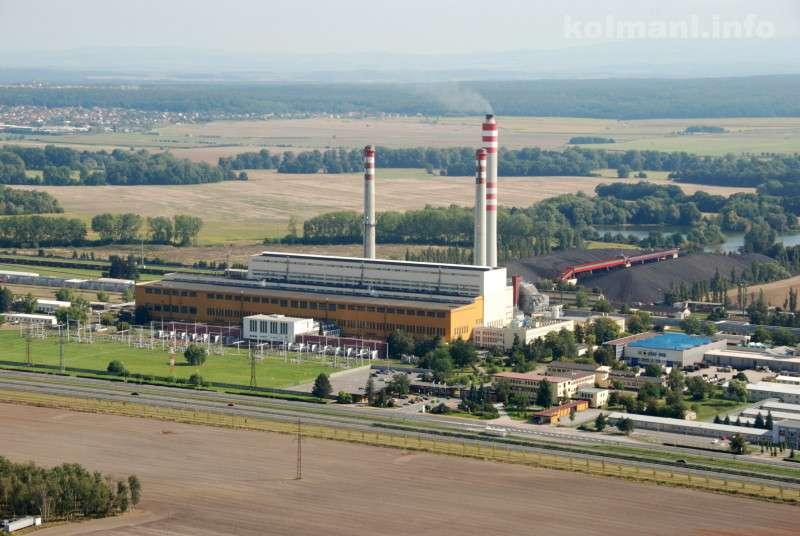 Elektrárna Opatovice. Foto: EP Energy