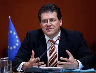 Šefčovič chce plynovou dohodu