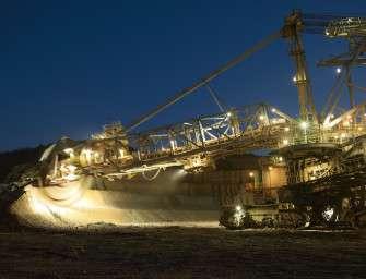 Mibrag za půl roku vytěžil 8,6 milionu tun uhlí