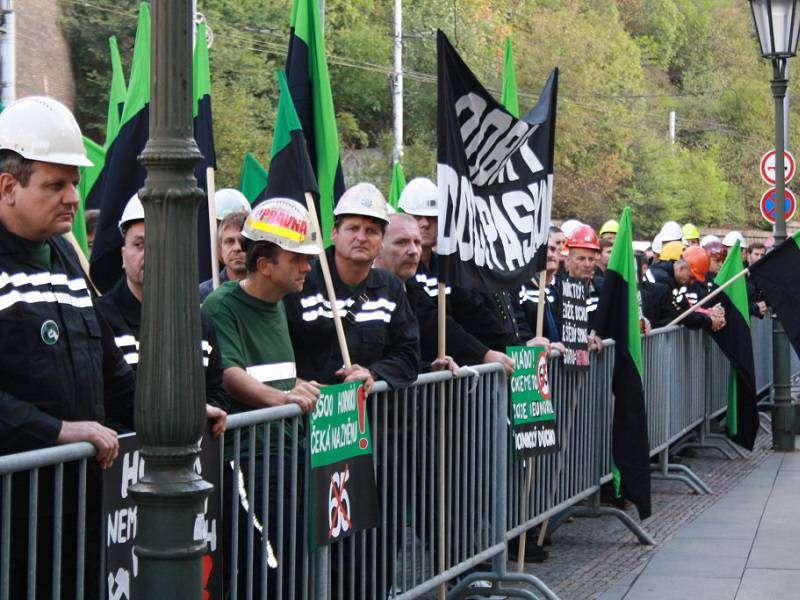 Hněv zaměstnanců OKD stále stoupá. Foto: iUHLI.cz
