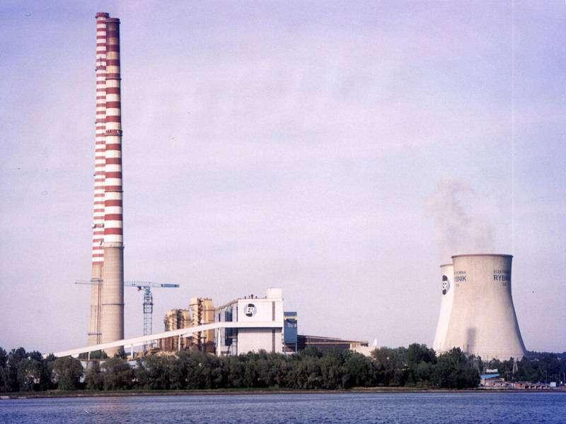 Elektrárna Rybnik foto: wikipedie