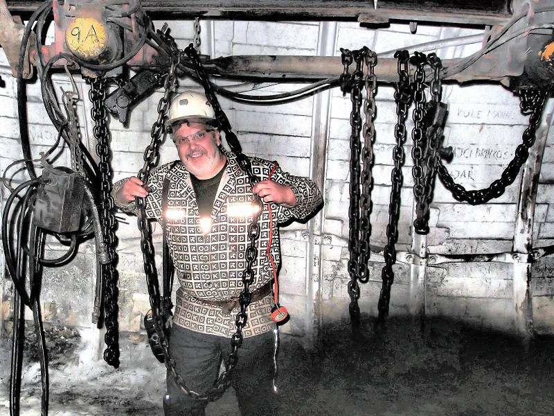 Důl ČSM-JIH Stonava překop 5301. Foto: Milan Čierny