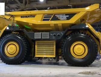 Nové Komatsu:Pohroma pro řidiče dumperů