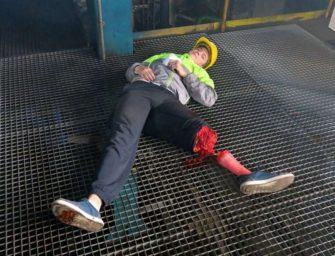 V Tušimicích cvičili záchranáři
