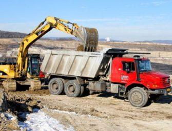 V Bílině staví nové cesty pro uhlí