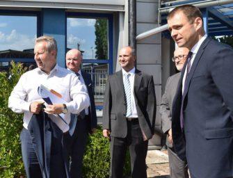 Ministr Brabec navštívil budějovickou teplárnu