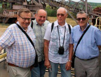 Tvůrci velkostrojů navštívili Ferropolis