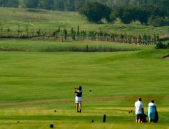 Golf mezi šachtami
