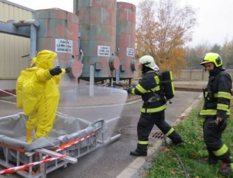 Ve Chvaleticích likvidovali únik kyseliny