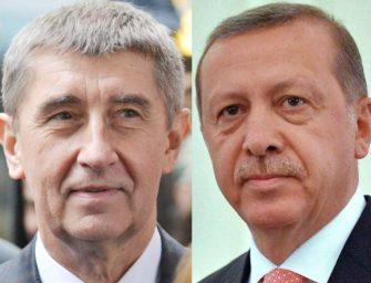 Babiš pojede za Erdoganem řešit elektrárnu