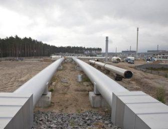 """Aktivisté chtějí """"ucpat"""" Nord Stream 2"""