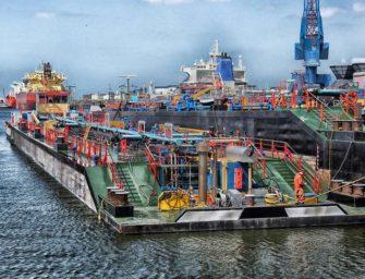 V evropských přístavech se hromadí uhlí