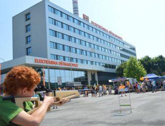 Den otevřených dveří v Elektrárně Dětmarovice
