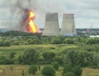 Požár plynové elektrárny má nejméně jednu oběť