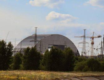 Ukrajina představila nový kryt Černobylu