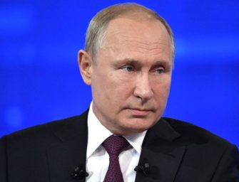 Putin tlačí na Dánsko kvůli plynovodu