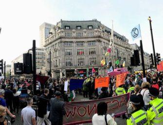 Londýnská policie zakázala akce ekoaktivistů