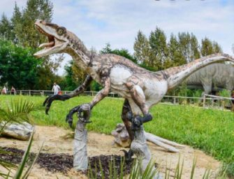 Těžní věže nahradili dinosauři